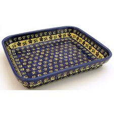 "10""  Rectangular Baking Pan - Pattern 175A"