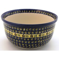 "<strong>Euroquest Imports Polish Pottery</strong> 10.5"" Kitchen Bowl"
