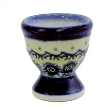 "<strong>Euroquest Imports Polish Pottery</strong> 2"" Egg Cup - Pattern DU1design"
