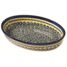 "12"" Oval Baking Pan - Pattern DU1design"