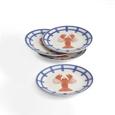"Lobster 8"" Plate (Set of 4)"