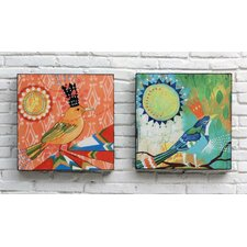 Jessica Swift Set of 2 Wall Decor with Birds
