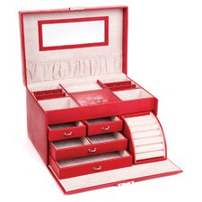 Large Red Jewellery Box