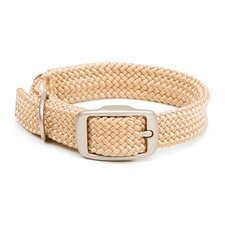 Double Braid Collar in Sand / Brushed Nickel Hardware