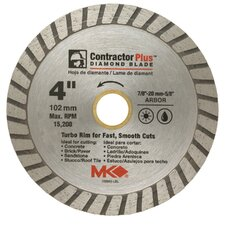 "4"" Contractor Plus™ Diamond Blade  166998"