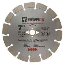 "7"" Contractor Plus™ Diamond Blade  166991"
