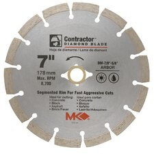 "<strong>MK Diamond</strong> 7"" Contractor™ Diamond Blade  167015"