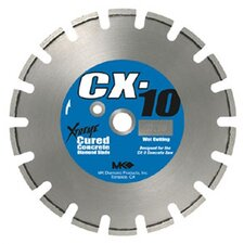 Wet Cutting Segmented Rim Blades CX-10