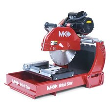"MK-2002 2 HP 115/230V 14"" Blade Capacity Electric Wet or Dry Cutting Brick and Block Saw"