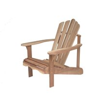 Mahogany Cape Cod Adirondack in Raw