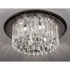 Cascata 6 Light Ceiling Flush Mount