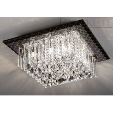 Cascata 8 Light Ceiling Flush Mount