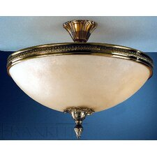 Babylon Bacchus 3 Light Semi Flush Mount