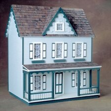 Junior Series Front Opening Vermont Farmhouse Jr. Dollhouse