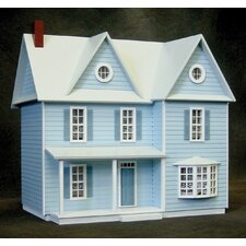 Half-Scale Country Farmhouse Dollhouse