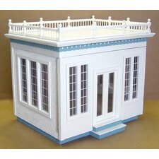 Displays Front-Opening Jr. Conservatory Dollhouse