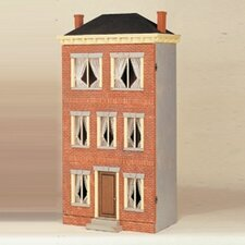 Family Favorites Franklin Street-Prebricked Dollhouse