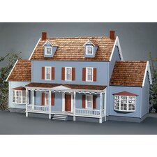 <strong>Real Good Toys</strong> New Concept Dollhouse Kits Shelburne Dollhouse