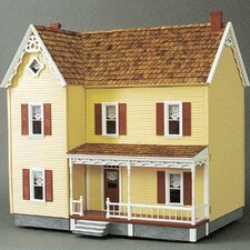 New Concept Dollhouse Kits Front-Opening Greenacres Dollhouse