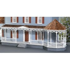 "Dollhouse 31"" Gazebo Wraparound Porch"