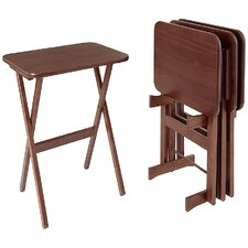 <strong>Manchester Wood</strong> Rectangular Tray Table (Set of 4)