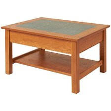 <strong>Manchester Wood</strong> Coffee Table with Shelf