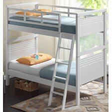 Fion Single Bunk Bed in White