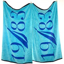 1983 Beach Towel (Set of 2)