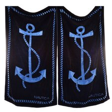 Anchor Provence Beach Towel (Set of 2)