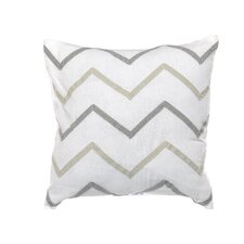 "Margate 16"" Chevron Decorative Pillow"