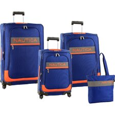 <strong>Nautica</strong> Rhumb Line 4 Piece Luggage Set