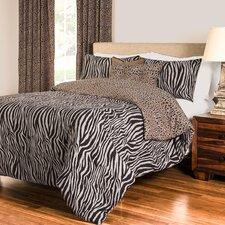 Zebra Zen Duvet Set Collection