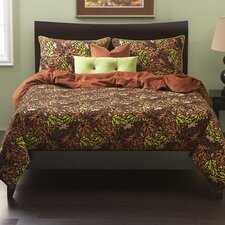 Pressed Leaf Duvet Set