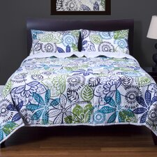 Bali 3 Piece Quilt Set Collection