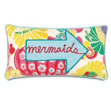 Alexis Mermaids Applique Accent Pillow