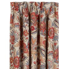 Corinne Drapery Rod Pocket Curtain Single Panel
