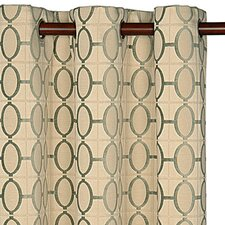 Brenn Drapery Rod Pocket Curtain Single Panel