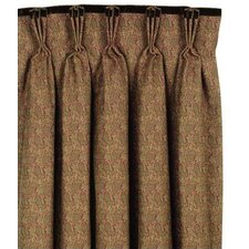 Amelie Cotton Rod Pocket Curtain Single Panel