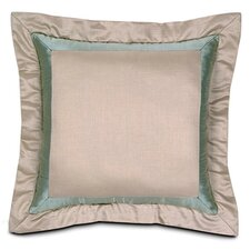 Evora Shantung Linen Mitered Pillow
