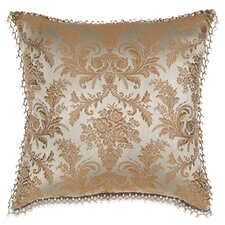 Foscari Pillow with Beaded Trim