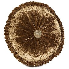 Foscari Glamour Round Tufted Pillow