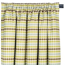 Jardena Cotton Rod Pocket Carlin Curtain Single Panel