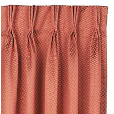 <strong>Eastern Accents</strong> Lindsay Cotton Rod Pocket Orton Curtain Single Panel