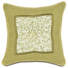 <strong>Eastern Accents</strong> Lindsay Anise Square Insert Tufted Pillow