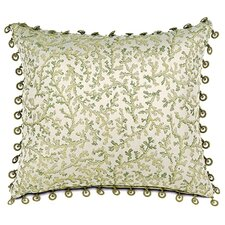 <strong>Eastern Accents</strong> Lindsay Lewis Anise Pillow with Beaded Trim