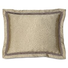 <strong>Eastern Accents</strong> Marbella Sorel Alloy Standard Sham Bed Pillow