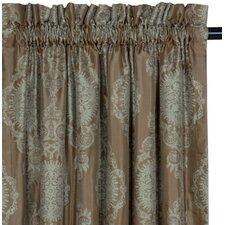 Marbella Dark Rod Pocket Curtain Single Panel