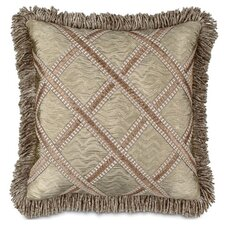 <strong>Eastern Accents</strong> Marbella Sorel Alloy Pillow with Gimp and Fringe