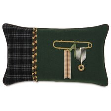 <strong>Eastern Accents</strong> MacCallum Gable Pine Pillow
