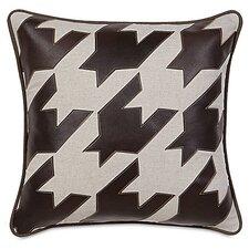 MacCallum Hoffman Houndstooth Applique Decorative Pillow